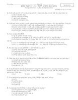Đề tham khảo kiểm tra lý 12 quang học