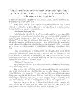 MỘT SỐ GIẢI PHÁP NÂNG CAO CHẤT LƯỢNG TÍN DỤNG TRUNG DÀI HẠN CỦA NGÂN HÀNG CÔNG THƯƠNG BA ĐÌNH ĐỐI VỚI CÁC DOANH NGHIỆP NHÀ NƯỚC