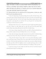 MỘT SỐ KIẾN NGHỊ VÀ GIẢI PHÁP NHẰM MỞ RỘNG VÀ NÂNG CAO HIỆU QUẢ HOẠT ĐỘNG CHO VAY NGẮN HẠN ĐỐI VỚI HỘ GIA ĐÌNH, CÁ NHÂN SẢN XUẤT KINH DOANH TẠI CHI NHÁNH NHTM NAM VIỆT