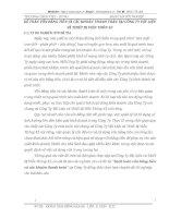 KẾ TOÁN VỐN BẰNG TIỀN VÀ CÁC KHOẢN THANH TOÁN TẠI CÔNG TY VẬT LIỆU VÀ THIẾT BỊ VIÊN THÔN 43