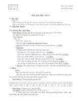 GIÁO ÁN NGỮ VĂN 6 CHUẨN TUẦN 17