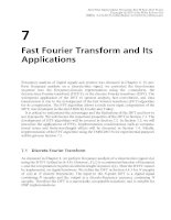Real-Time Digital Signal Processing - Chapter 7: Fast Fourier Transform and Its Applications