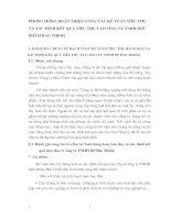 PHƯƠNG HƯỚNG HOÀN THIỆN CÔNG TÁC KẾ TOÁN TIÊU THỤ VÀ XÁC ĐỊNH KẾT QUẢ TIÊU THỤ TẠI CÔNG TY TNHH DƯỢC PHẨM BẢO THỊNH