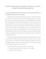 MỘT SỐ GIẢI PHÁP NHẰM PHÁT TRIỂN VỐN NHÂN LỰC TẠI TRUNG TÂM ĐIỀU ĐỘ HỆ THỐNG ĐIỆN MIỀN BẮC