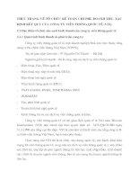 THỰC TRẠNG VỀ TỔ CHỨC KẾ TOÁN CHI PHÍ, DOANH THU, XÁC ĐỊNH KẾT QUẢ CỦA CÔNG TY VIỄN THÔNG QUỐC TẾ (VTI).