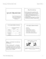 Bài giảng Quản trị rủi ro.chương 1