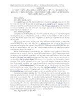 Sự phối hợp chính sách tài khóa và chính sách tiền tệ trong điều hành lạm phát tại Việt Nam