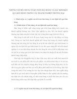 NHỮNG VẤN ĐỀ CHUNG VỀ KẾ TOÁN BÁN HÀNG VÀ XÁC ĐỊNH KẾT QUẢ BÁN HÀNG TRONG CÁC DOANH NGHIỆP THƯƠNG MẠI