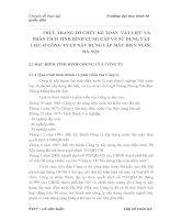 THỰC TRẠNG TỔ CHỨC KẾ TOÁN  VẬT LIỆU VÀ PHÂN TÍCH TÌNH HÌNH CUNG CẤP VÀ SỬ DỤNG VẬT LIỆU Ở CÔNG TY CP XÂY DỰNG LẮP MÁY ĐIỆN NƯỚC HÀ NỘI