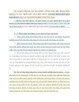 LÝ LUẬN CHUNG VỀ TỔ CHỨC CÔNG TÁC KẾ TOÁN BÁN HÀNG VÀ XÁC ĐỊNH KẾT QUẢ BÁN HÀNG VÀ XÁC ĐỊNH KẾT QUẢ BÁN HÀNG TẠI CÁC DOANH NGHIỆP THƯƠNG MẠI