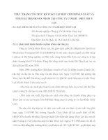 THỰC TRẠNG TỔ CHỨC KẾ TOÁN TẬP HỢP CHI PHÍ SẢN XUẤT VÀ TÍNH GIÁ THÀNH SẢN PHẨM TẠI CÔNG TY CƠ KHÍ   ĐIỆN THUỶ LỢI