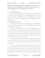 MỘT SỐ GIẢI PHÁP NHẰM HOÀN THIỆN CÔNG TÁC KẾ TOÁN TIÊU THỤ VÀ XÁC ĐỊNH KẾT QUẢ KINH DOANH TẠI CÔNG TY TRÁCH NHIỆM HỮU HẠN THƯƠNG MẠI VIỆT SƠN