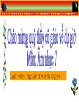 Tiêt 29 Tiêng ve goi he