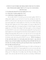 CƠ SỞ LÝ LUẬN VỀ HIỆU QUẢ HOẠT ĐỘNG CHO VAY CỦA NHTM ĐỐI VỚI DOANH NGHIỆP NHỎ VÀ VỪA TẠI CÁC NGÂN HÀNG THƯƠNG MẠI