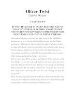 LUYỆN ĐỌC TIẾNG ANH QUA TÁC PHẨM VĂN HỌC-Oliver Twist -Charles Dickens -CHAPTER 12