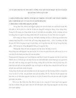 LÝ LUẬN CHUNG VÈ TỔ CHỨC CÔNG TÁC KẾ TOÁN NHẬP  XUẤT VÀ BẢO QUẢN NGUYÊN VẬT LIỆU