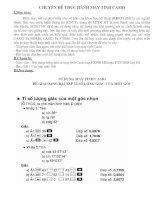 Chuyen de Casio 9 huong dan giai phuong trinh bac 3.(Phan tiep)