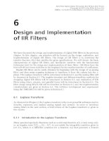 Real-Time Digital Signal Processing - Chapter 6: Design and Implementation of IIR Filters