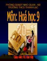 DAY HOAT DONG HOA HOC CUA KIM LOAI