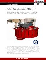 Product Brochure Rotor Weighfeeder TRW-K