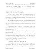 TÌNH HÌNH THỰC TẾ CÔNG TÁC KẾ TOÁN CHI PHÍ SẢN XUẤT VÀ TÍNH GIÁ THÀNH SẢN PHẨM XÂY LẮP TẠI CÔNG TY ĐẦU TƯ XÂY DỰNG VÀ PHÁT TRIỂN CÔNG NGHỆ