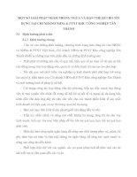 MỘT SỐ GIẢI PHÁP NHẰM PHÒNG NGỪA VÀ HẠN CHẾ RỦI RO TÍN DỤNG TẠI CHI NHÁNH NHNo