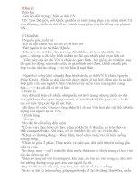 Bài viết số 3 đề 4 lớp 8
