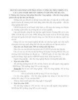 MỘT SỐ GIẢI PHÁP GÓP PHẦN TĂNG CƯỜNG SỰ PHÁT TRIỂN CỦA CÁC LÀNG NGHỀ TRUYỀN THỐNG Ở CHƯƠNG MỸ HÀ TÂY