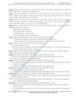 20 câu luyện tập Át lát ĐLTN 12