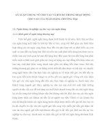 LÝ LUẬN CHUNG VỀ CHO VAY VÀ RỦI RO TRONG HOẠT ĐỘNG CHO VAY CỦA NGÂN HÀNG THƯƠNG MẠI