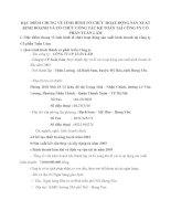 ĐẶC ĐIỂM CHUNG VỀ TÌNH HÌNH TỔ CHỨC HOẠT ĐỘNG SẢN XUẤT KINH DOANH VÀ TỔ CHỨC CÔNG TÁC KẾ TOÁN TẠI CÔNG TY CỔ PHẦN TUẤN LÂM