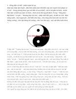 Những nguyên tắc cơ bản của phong thủy âm trạch