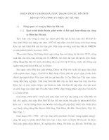 PHÂN TÍCH VÀ ĐÁNH GIÁ THỰC TRẠNG CƠ CẤU TỔ CHỨC BỘ MÁY CỦA CÔNG TY ĐIỆN LỰC HÀ NỘI.