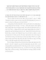MỘT SỐ Ý KIẾN NHẰM GÓP PHẦN HOÀN THIỆN CÔNG TÁC KẾ TOÁN BÁN HÀNG VÀ XÁC ĐỊNH KẾT QUẢ KINH DOANH TẠI CÔNG TY TNHH THƯƠNG MẠI VÀ DỊCH VỤ PHÁT TRIỂN THỊ TRƯỜNG AAA