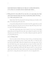 GIẢI PHÁP HOÀN THIỆN QUẢN TRỊ LỰC LƯỢNG BÁN HÀNG CỦA CÔNG TY CỔ PHẦN DƯỢC PHẨM VIỄN ĐÔNG