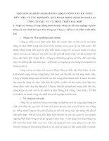 MỘT SỐ GẢI PHÁP NHẰM HOÀN THIỆN CÔNG TÁC KẾ TOÁN TIÊU THỤ VÀ XÁC ĐỊNH KẾT QUẢ HOẠT ĐỘNG KINH DOANH TẠI CÔNG TY ĐẦU TƯ VÀ PHÁT TRIỂN DẦU KHÍ