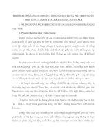 PHƯƠNG HƯỚNG NÂNG CAO HIỆU QUẢ CÔNG TÁC ĐÀO TẠO VÀ PHÁT TRIỂN NGUỒN NHÂN LỰC CỦA NGÀNH HÀNG KHÔNG DÂN DỤNG VIỆT NAM