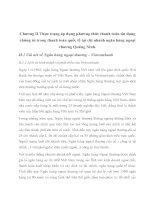 Chương II Thực trạng áp dụng phương thức thanh toán tín dụng chứng từ trong thanh toán quốc tế tại chi nhánh ngân hàng ngoại thương Quảng Ninh
