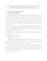 TỔNG QUAN VỀ HOẠT ĐỘNG TÍN DỤNG VÀ CÔNG TÁC PHÂN TÍCH TÀI CHÍNH DOANH NGHIỆP TẠI NGÂN HÀNG THƯƠNG MẠI