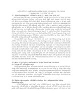 MỘT SỐ GIẢI PHÁP NHẰM HOÀN THIỆN TÌNH HÌNH TÀI CHÍNH