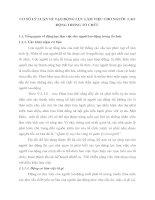 CƠ SỞ LÝ LUẬN VỀ TẠO ĐỘNG LỰC LÀM VIỆC CHO NGƯỜI  LAO ĐỘNG TRONG TỔ CHỨC