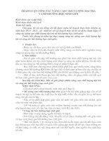 THAM LUẬN CÔNG TÁC NÂNG CAO CHẤT LƯỢNG ĐẠI TRÀVÀ BỒI DƯỠNG HỌC SINH GIỎI