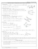 Bài tập phép biến hình - HH11