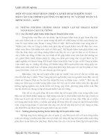 MỘT SỐ GIẢI PHÁP HOÀN THIỆN LẬP KẾ HOẠCH KIỂM TOÁN BÁO CÁO TÀI CHÍNH TẠI CÔNG TY DỊCH VỤ TƯ VẤN KẾ TOÁN VÀ KIỂM TOÁN