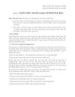 Dược Lý Lâm Sàng: Phần 31 - Thuốc điều trị rối lọan lipoprotein máu