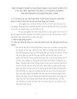 MỘT SỐ KIẾN NGHỊ VÀ GIẢI PHÁP NÂNG CAO CHẤT LƯỢNG CƠ CẤU TỔ CHỨC BỘ MÁY CÁN BỘ CỦA NGÀNH LAO ĐỘNG   THƯƠNG BINH VÀ XÃ HỘI TỈNH BẮC NINH