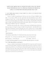 NHỮNG ĐẶC ĐIỂM CHUNG ẢNH HƯỞNG ĐẾN CÔNG TÁC HẠCH TOÁN CHI PHÍ SẢN XUẤT VÀ TÍNH GIÁ THÀNH SẢN PHẨM TẠI CÔNG TY CỔ PHẦN BÊ TÔNG READYMIX VIỆT NAM