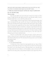 MỘT SỐ Ý KIẾN NHẰM HOÀN THIỆN HẠCH TOÁN NGUYÊN VẬT LIỆU TẠI CÔNG TY CỔ PHẦN BÁNH KẸO CAO CẤP HỮU NGHỊ
