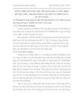 HOÀN THIỆN KẾ TOÁN TIÊU THỤ HÀNG HOÁ VÀ XÁC ĐỊNH KẾT QUẢ TIÊU THỤ HÀNG HOÁ TẠI CÔNG TY TNHH TM VÀ