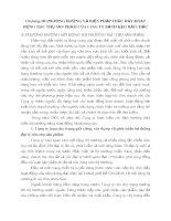 Chương III PHƯƠNG HƯỚNG VÀ BIỆN PHÁP THÚC ĐẨY HOẠT ĐỘNG TIÊU THỤ SẢN PHẨM CỦA CÔNG TY BÁNH KẸO HẢI CHÂU